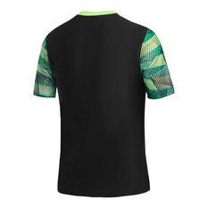 Speedo Boys Leisure Prismz Rash Vest Black 8, Black, rebel_hi-res