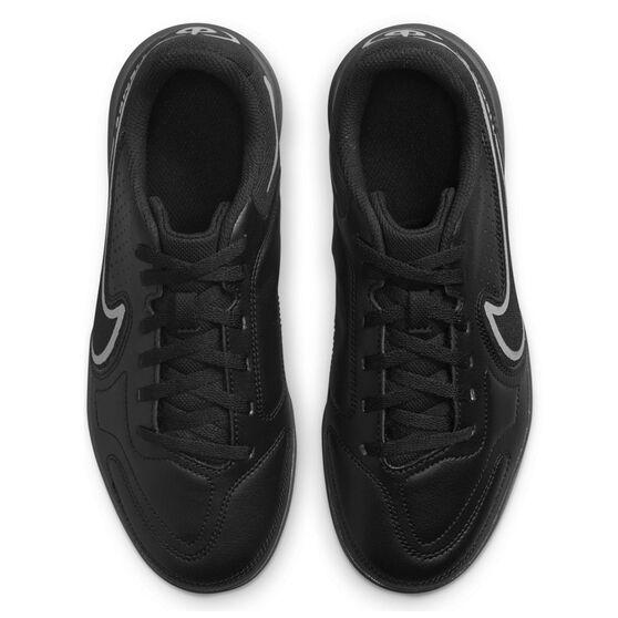 Nike Tiempo Legend 9 Club Kids Indoor Soccer Shoes, Black/Grey, rebel_hi-res