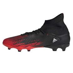 adidas Predator 20.3 Football Boots Black / White US Mens 5 / Womens 6, Black / White, rebel_hi-res