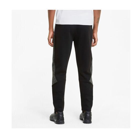 Puma Mens Evostripe Pants, Black, rebel_hi-res