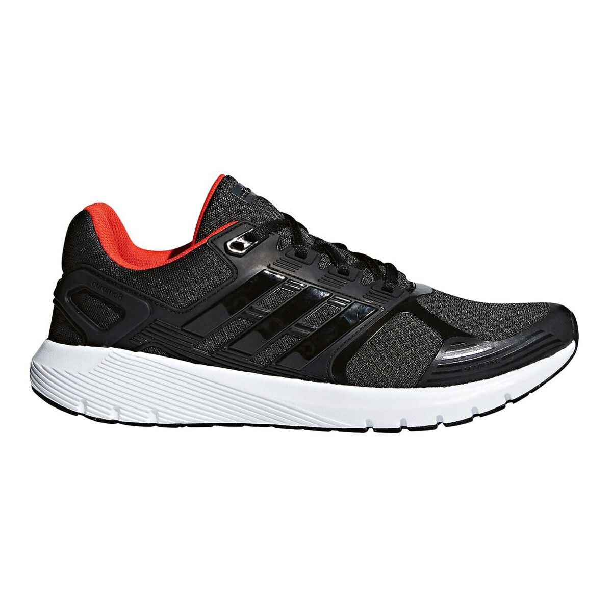 adidas Duramo 8 Mens Running Shoes Black White US 11.5