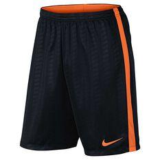 Nike Mens Academy Football Shorts Black S Adults, Black, rebel_hi-res