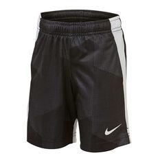 Nike Boys Dri-FIT GFX Legacy Shorts Black 4, Black, rebel_hi-res