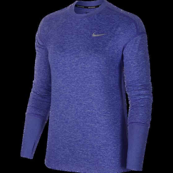 Nike Womens Element Running Top, Thistle, rebel_hi-res