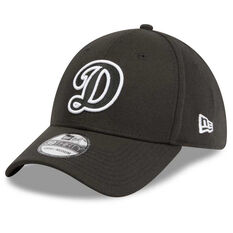 Los Angeles Dodgers 39THIRTY Black White Cap Black / White S / M, Black / White, rebel_hi-res