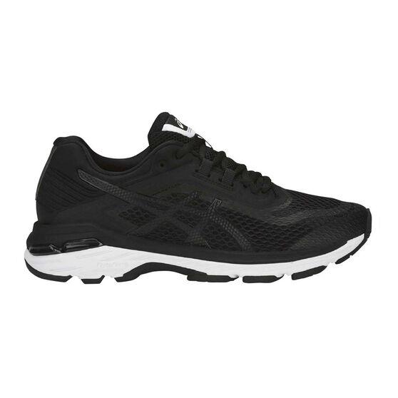 Asics GT 2000 6 Womens Running Shoes Black / White US 11, Black / White, rebel_hi-res