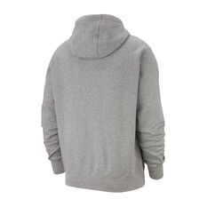 Nike Sportswear Mens Club Fleece Hoodie Grey XS, Grey, rebel_hi-res
