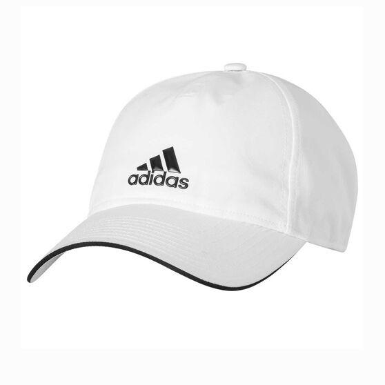 adidas Classic Five Panel Climalite Cap White / Black OSFM, , rebel_hi-res
