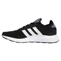 adidas Originals Swift Run X Casual Shoes Black/White US 4, Black/White, rebel_hi-res