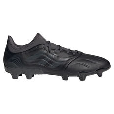 adidas Copa .3 Football Boots Black US Mens 5 / Womens 6, Black, rebel_hi-res