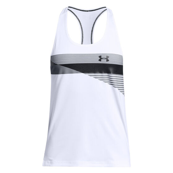 Under Armour Girls HeatGear Armour Tank, , rebel_hi-res
