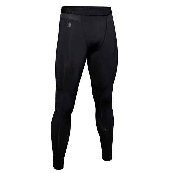 Under Armour Mens Rush Training Tights, Black, rebel_hi-res