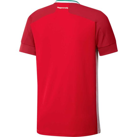 adidas Hungary 2020 Mens Home Jersey, Red, rebel_hi-res