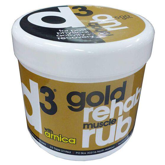 D3 Gold Rehab Rub 200g, , rebel_hi-res