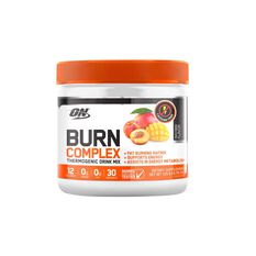 ON  Peach Mango Burn Complex Thermogenic Drink, , rebel_hi-res