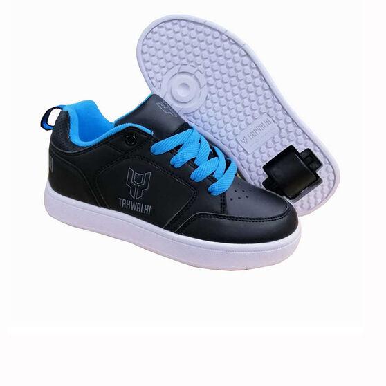 Tahwalhi Lo Top Shoes, Black / Blue, rebel_hi-res