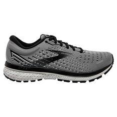Brooks Ghost 13 2E Mens Running Shoes Grey/Black US 8, , rebel_hi-res