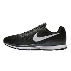 Nike Air Zoom Pegasus 34 Mens Running Shoes Black / White US 7, Black / White, rebel_hi-res