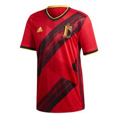 adidas Belgium 2020 Mens Home Jersey Red S, Red, rebel_hi-res