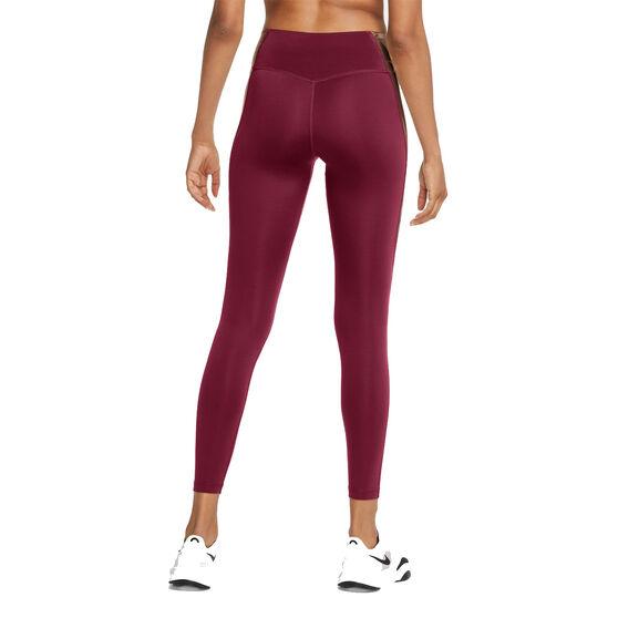 Nike Womens One Tights, Pink, rebel_hi-res