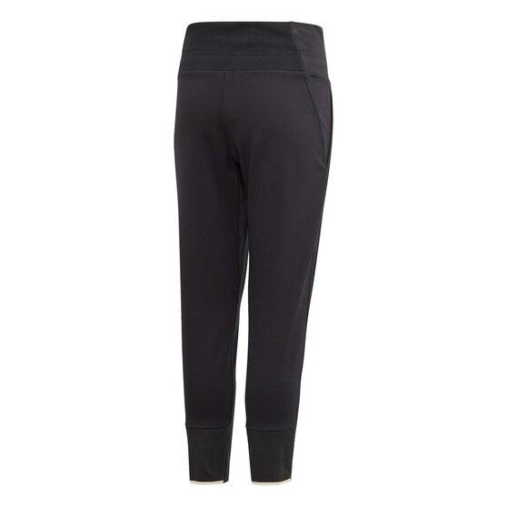 adidas Girls VRCT Training Pants, Black / White, rebel_hi-res