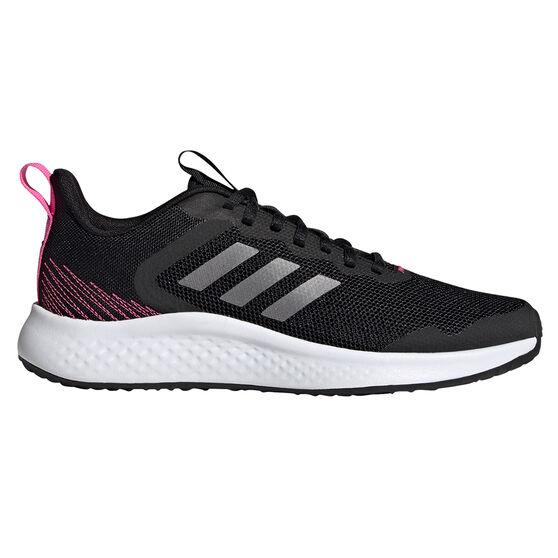 adidas Fluidstreet Womens Running Shoes, Black/Grey, rebel_hi-res