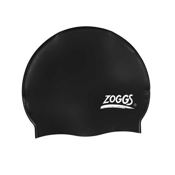 Zoggs Adult Silicone Swimming Cap, , rebel_hi-res
