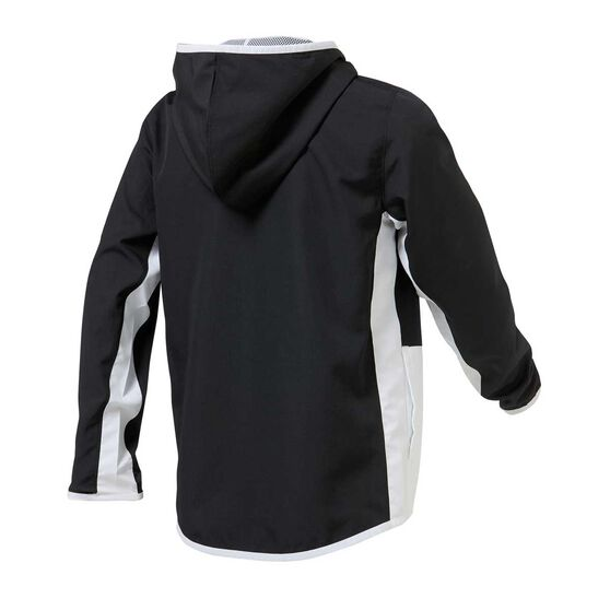 Under Armour Boys Woven Track Jacket Black / White XS, Black / White, rebel_hi-res