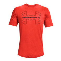 Under Armour Mens Training Vent Tee Red S, , rebel_hi-res