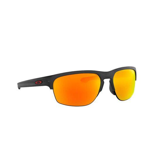 Oakley Sliver™ Edge Sunglasses Polished Black / Prizm Black Polarized, Polished Black / Prizm Black Polarized, rebel_hi-res