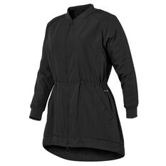 Ell & Voo Womens Gracie Lightweight Woven Jacket Black XXS, Black, rebel_hi-res