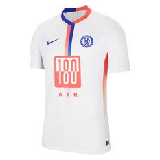 Chelsea FC 2020/21 Mens Air Max 4th Jersey White S, White, rebel_hi-res