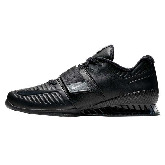 Nike Romaleos 3 XD Mens Training Shoes, Black / Grey, rebel_hi-res
