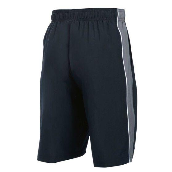 Under Armour Boys Impulse Woven Shorts Black / Grey XL, Black / Grey, rebel_hi-res