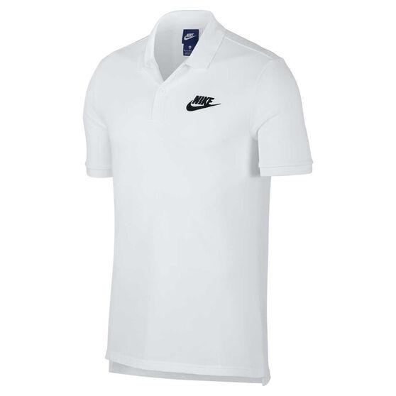 Nike Mens Sportswear Matchup Polo, White, rebel_hi-res