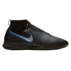 Nike Phantom Vision Pro React Mens Indoor Soccer Shoes Black / Blue US 7, Black / Blue, rebel_hi-res