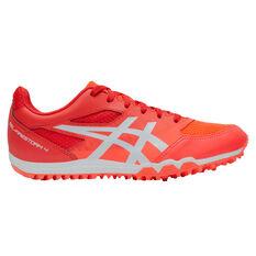 Asics GEL Firestorm 4 Kids Track Shoes Red/Orange US 1, Red/Orange, rebel_hi-res