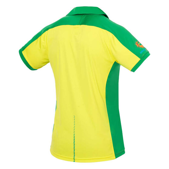 Cricket Australia 2019/20 Mens ODI Replica Shirt, Yellow, rebel_hi-res