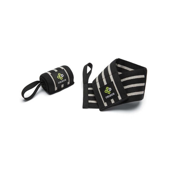 Celsius Elasticated Wrist Cuffs, , rebel_hi-res
