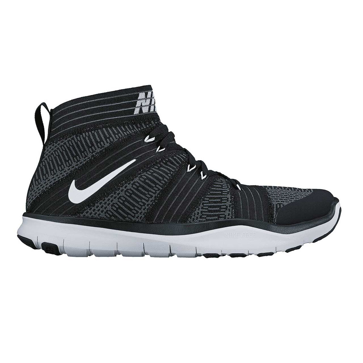 c49091f881d1 ... ebay nike free train virtue mens training shoes black white us 9 black  white a8d89 1e517
