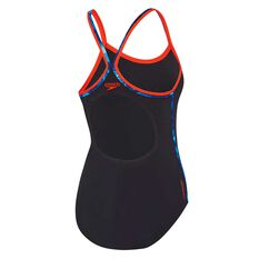 Speedo Womens Sierra Swimsuit Black 8, Black, rebel_hi-res