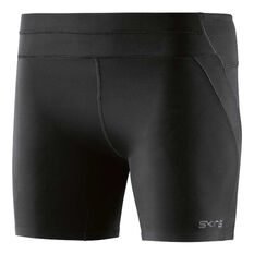 Skins Womens DNAmic Ultimate Shorts Black XS, Black, rebel_hi-res