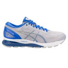 big sale 253bd 513c9 Asics GEL Nimbus 21 Lite Show Mens Running Shoes Grey   Blue US 7, Grey