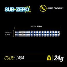 Winmau Sub Zero Darts, , rebel_hi-res