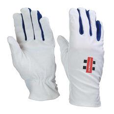 Gray Nicolls Cricket Batting Glove Inners White Youth, White, rebel_hi-res
