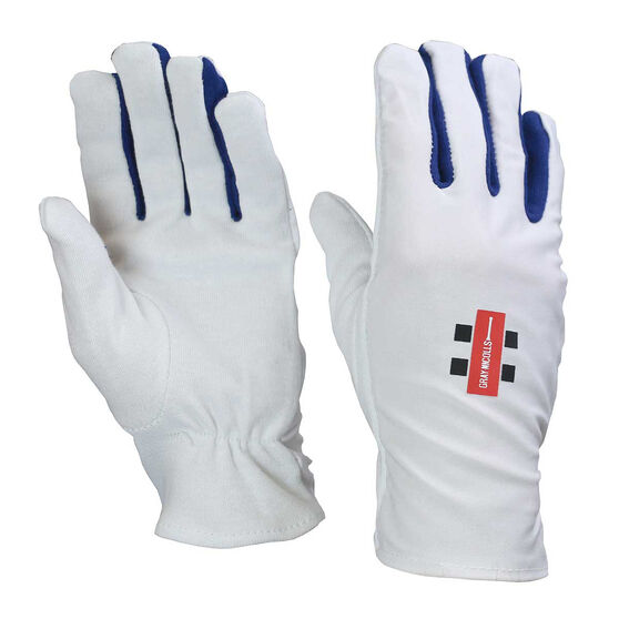 Gray Nicolls Cricket Batting Glove Inners, White, rebel_hi-res