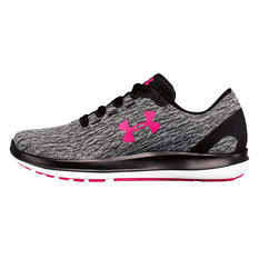 c1873a86c2 Under Armour Womens Remix Running Shoes Grey / Black US 6, Grey / Black,