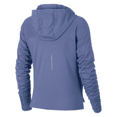 Nike Womens Dry Graphic Running Hoodie Purple / Blue XS, Purple / Blue, rebel_hi-res