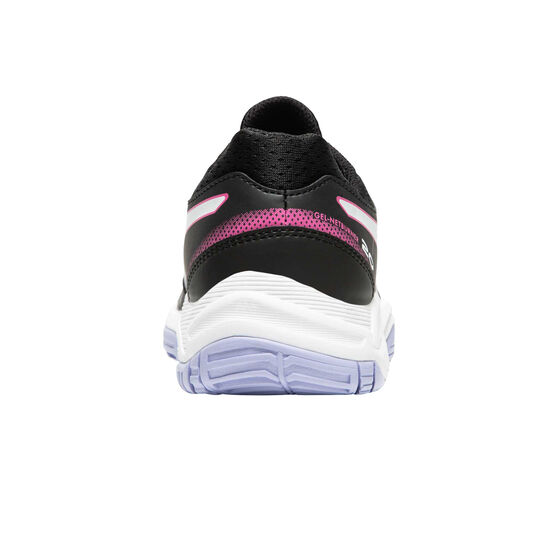 Asics GEL Netburner 20 Girls Netball Shoes, Black/Pink, rebel_hi-res