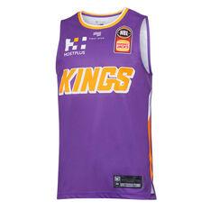 Sydney Kings 2019/20 Mens Home Jersey, Purple, rebel_hi-res